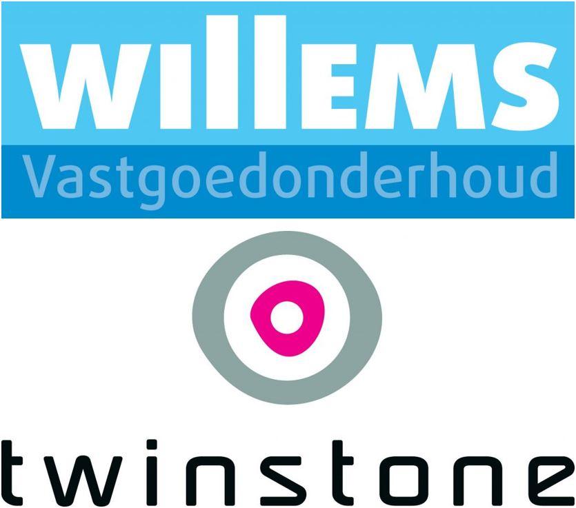 logo's Willems + Twinstone